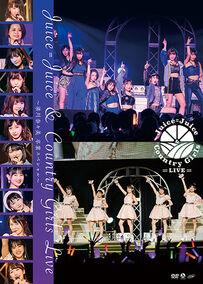 JJ&CGLIVE2019-DVD