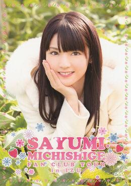 Michishige-Sayumi-Fanclub-Tour-in-Izu-DVD-front