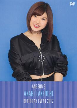 ANGERME-Takeuchi-Akari-Birthday-Event-2017-DVD-front