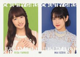 Country-Girls-Yamaki-Risa-Birthday-Event-2017-DVD-front