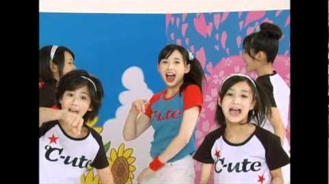 ℃-ute - Meguru Koi no Kisetsu (MV) (Dance Shot Natsu Ver.)