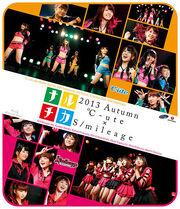 C-ute and Smileage Blu-ray Cover