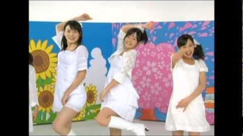 ℃-ute - Meguru Koi no Kisetsu (MV) (Dance Shot Haru Ver.)