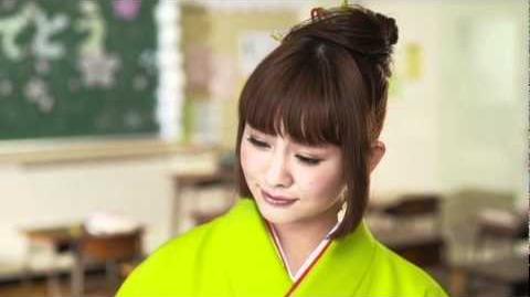 Berryz Koubou × ℃-ute - Amazuppai Haru ni Sakura Saku (MV) (Sugaya Risako Solo Ver