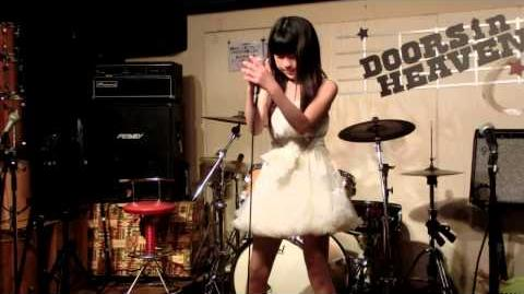 福本まなか 歌いま來梨ライブその④(高橋洋子「残酷な天使のテーゼ」)