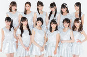 Morning Musume 17 promoting Jealousy Jealousy