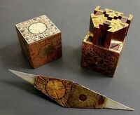 Puzzle Boxes Various Configurations