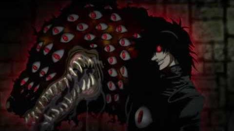 Hellsing Ultimate Luke Valentine vs Alucard BD 1080p ENG DUB - Ultimate Quality