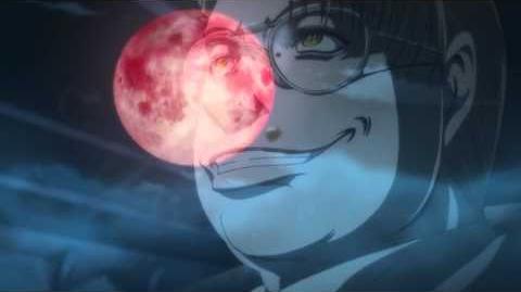 Major from Hellsing Ultimate OVA 03 sings 'Tough Boy' from 'Hokuto no Ken'.