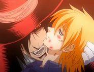 Seras chooses to become a Vampire