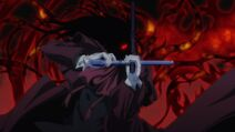 Alucard reverse cross battle
