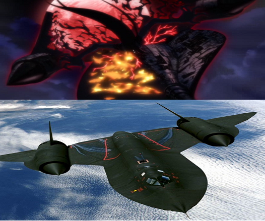Sr 71 Blackbird Hellsing Wiki Fandom Powered By Wikia