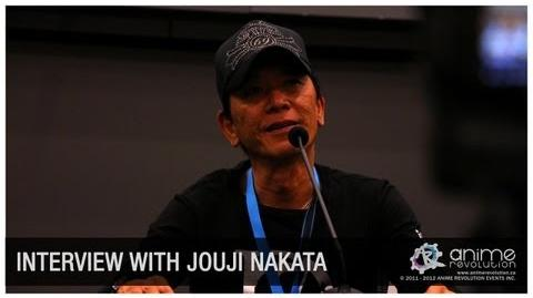 ANIREVO SUMMER 2012 Nakata Jouji Exclusive Interview