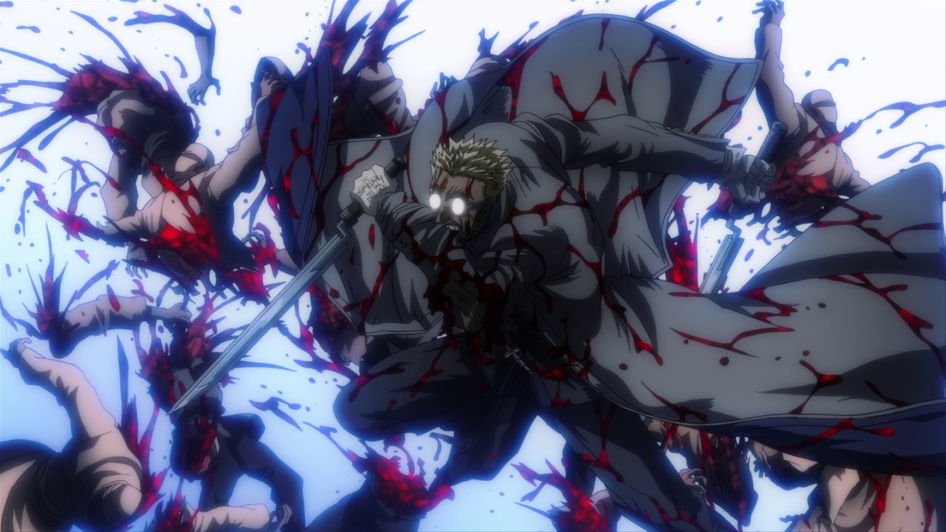 Image - Anderson Fighting the Horde.png | Hellsing Wiki ...