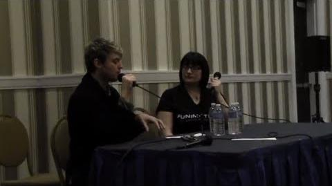 Hellsing Panel with FUNimation Crispin Freemen on the Character of Alucard
