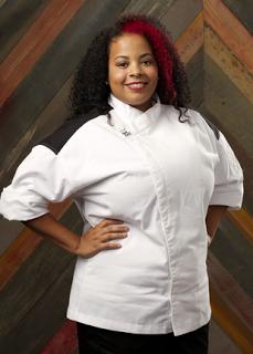 monique booker - Hells Kitchen Season 14 2