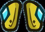 Gold Plate Legs