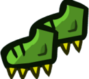 Spiked Dino Boot