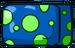 Blue Mushroom Cube