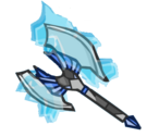 Frozen Mithril Axe