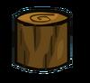 Chestnut Tree Log