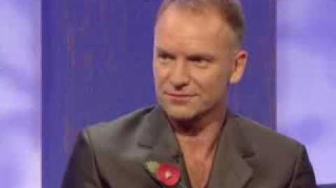 Sting interview - part one - Parkinson - BBC