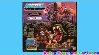 He-Man The Masters of The Universe Fright Zone Mattel Commercial Retro Toys and Cartoons