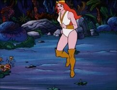 Princess Rhea running