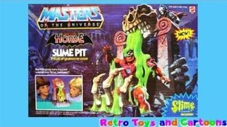 He-Man and The Masters of The Universe The Evil Horde Slime Pit Mattel Retro Toys and Cartoons