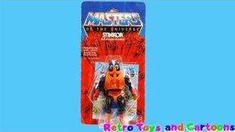 He-Man Masters of The Universe Stinkor Mattel Commercial Retro Toys and Cartoons