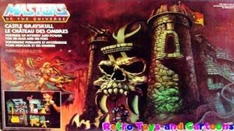 He-Man and The Masters of The Universe Castle Grayskull Mattel Commercial Retro Toys and Cartoons