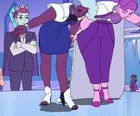 Netossa (She-Ra and the Princesses of Power) and Spinnerella (She-Ra and the Princesses of Power) from Princess Prom 001