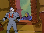 Hordak and Skeletor