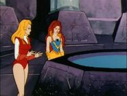 Adora and Castaspella in the pool of vision