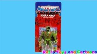 He-Man and The Masters of The Universe Kobra Khan Mattel Commercial Retro Toys and Cartoons