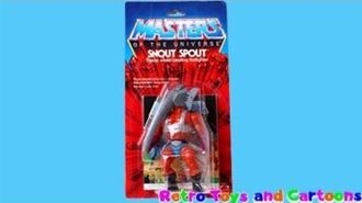 He-Man Masters of the Universe Snout Spout Mattel Commercial Retro Toys and Cartoons