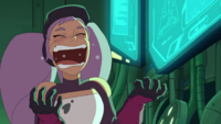 Entrapta has the mad scientist laugh down pat