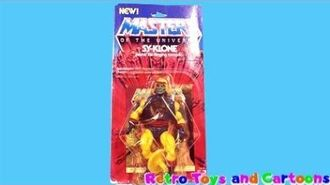 He-Man Masters of The Universe Sy-Klone Mattel Commercial Retro Toys and Cartoons