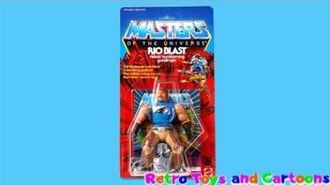 He-Man and The Masters of The Universe Rio Blast Commercial Retro Toys and Cartoons