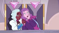 Netossa (She-Ra and the Princesses of Power) and Spinnerella (She-Ra and the Princesses of Power) from Flowers for She-Ra 002