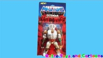 He-Man and The Masters of The Universe Extendar Mattel Retro Toys and Cartoons