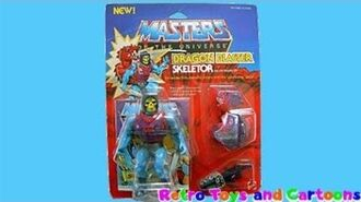 He-Man and The Masters of The Universe Dragon Blaster Skeletor Mattel Retro Toys and Cartoons