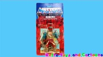 He-Man and The Masters of The Universe Roboto Commercial Retro Toys and Cartoons