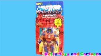 He-Man and The Masters of The Universe Man-E-Faces Mattel Commercial Retro Toys and Cartoons