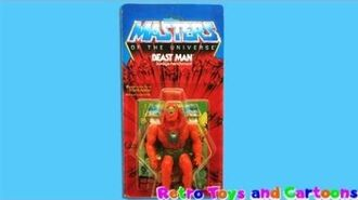 He-Man and The Masters of The Universe Beast Man Commercial Retro Toys and Cartoons