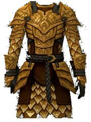 Guilded armor