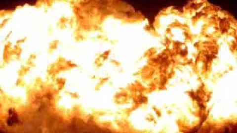 Holy Smoke!!! Burningman 2007 Oil Rig Platform explosion