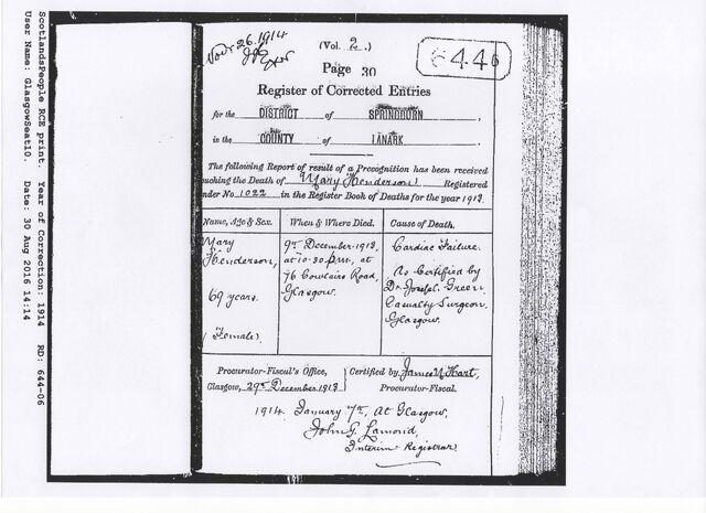 File:Gibb Henderson, Mary Death 1913 Corrected Entry.jpg