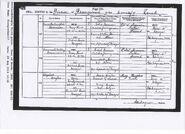 Hughes, Elizabeth Birth 1896
