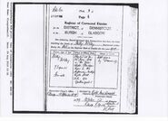 Crichton McVey, Nelly Death 1959 Corrected Entry